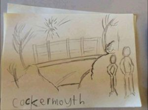 Cockermouth drawing