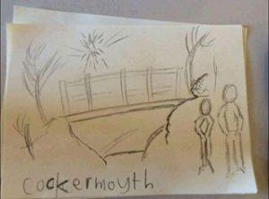 Cockermouth drawing