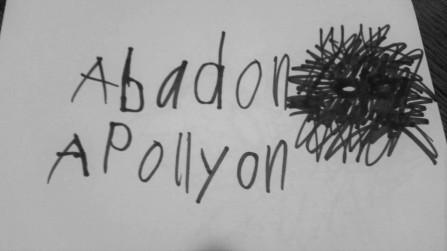 Dillon's drawing of Abaddon